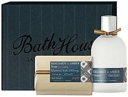 Parfums et Produits cosmétiques Bath House Bergamot & Amber - Coffret cadeau (eau de cologne/100ml + savon/150g)