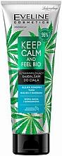 Parfums et Produits cosmétiques Baume bio à l'huile de chanvre pour corps - Eveline Cosmetics Keep Calm And Feel Bio