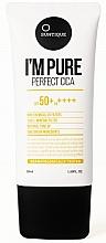Parfums et Produits cosmétiques Crème solaire pour peaux sensibles - Suntique I'm Pure Perfect Cica SPF 50+ / PA +++