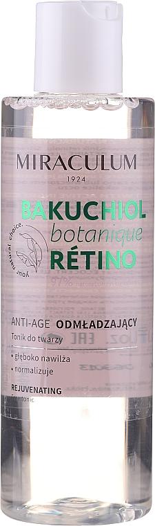 Lotion tonique au rétinol - Miraculum Bakuchiol Botanique Retino Tonic