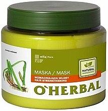 Parfums et Produits cosmétiques Masque à l'extrait de racine calamus pour cheveux - O'Herbal