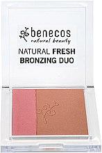 Parfums et Produits cosmétiques Poudre bronzante pour visage duo - Benecos Natural Fresh Bronzing Duo