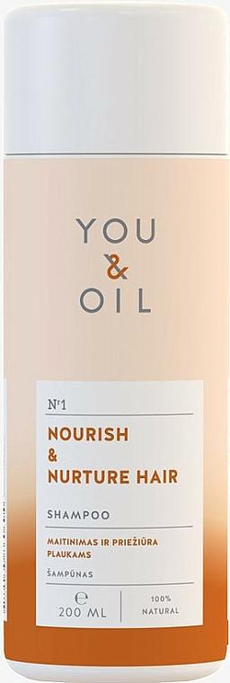 Shampooing aux protéines de riz - You&Oil Nourish & Nurtere Hair Shampoo — Photo N1