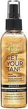 Parfums et Produits cosmétiques Brume corporelle - Lift4Skin Get Your Tan! Gold Glowing Mist