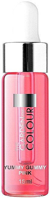 Huile avec pipette pour ongles et cuticules - Silcare Garden of Colour Cuticle Yummy Gummy Pink