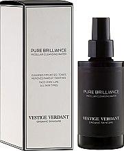 Parfums et Produits cosmétiques Eau micellaire nettoyante en profondeur - Vestige Verdant Pure Brilliance Micellar Cleansing Water
