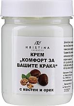 Parfums et Produits cosmétiques Crème confort au marronnier d'Inde et huile de sésame pour pieds - Hristina Cosmetics