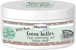Parfums et Produits cosmétiques Beurre de cacao pour corps - Nacomi Natural Kakao Butter