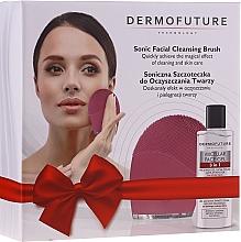 Parfums et Produits cosmétiques DermoFuture - Coffret cadeau(gel micellaire/150 ml + brosse sonique pour visage/1pcs)
