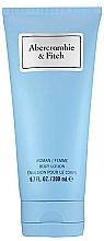 Parfums et Produits cosmétiques Abercrombie & Fitch First Instinct Blue Women - Lotion parfumée pour corps