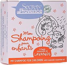 Parfums et Produits cosmétiques Shampooing solide pour enfants - Secrets De Provence My Children Shampoo Lavender Essential Oil