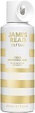 Parfums et Produits cosmétiques Brume bronzante pour visage et corps, incolore - James Read Self Tan Clear Bronzing Mist Face & Body