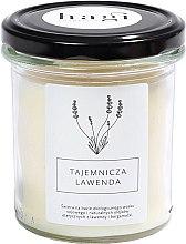 Parfums et Produits cosmétiques Bougie parfumée de soja Lavande mystérieuse - Hagi