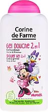 Parfums et Produits cosmétiques Gel douche hypoallergénique 2en1 pour enfants - Corine de Farme Disney Minnie Mouse
