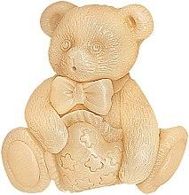Parfums et Produits cosmétiques Savon glycériné Ourson - Bulgarian Rose Natural Glycerin Fragrant Soap Pooh Teddy Bear