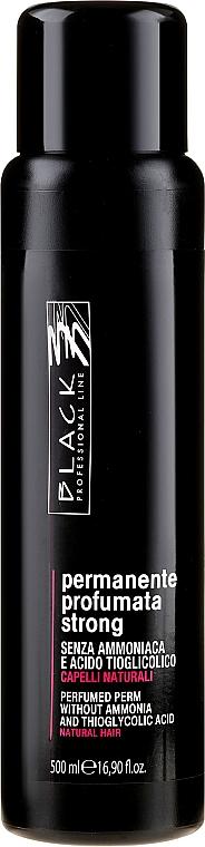 Lotion de permanente parfumée sans ammoniac - Black Professional Line