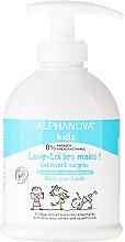 Parfums et Produits cosmétiques Gel lavant surgras à l'aloe vera et aux huiles essentielles - Alphanova Kids Wash Your Hands