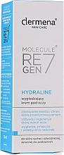 Parfums et Produits cosmétiques Crème à l'acide lactique contour des yeux - Dermena Skin Care Hydraline Eye Cream