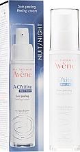 Parfums et Produits cosmétiques Soin peeling de nuit éclat et premières rides - Avene A-Oxitive Night Peeling Cream