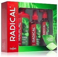 Parfums et Produits cosmétiques Set pour cheveux - Farmona Radical (shampooing/400ml + après-shm/100ml + spray/200ml)