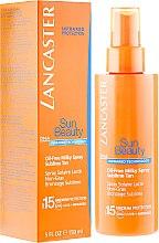 Parfums et Produits cosmétiques Spray solaire lacté non gras pour corps - Lancaster Sun Beauty Oil-Free Milky Spray SPF 15