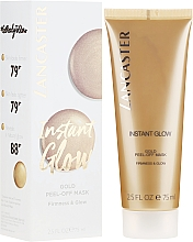 Parfums et Produits cosmétiques Masque éclat pour visage - Lancaster Instant Glow Gold Peel-Off Mask