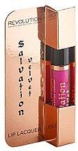 Parfums et Produits cosmétiques Laque à lèvres - Makeup Revolution Salvation Velvet Lip Lacquer