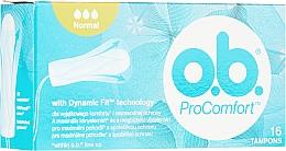 Parfums et Produits cosmétiques Tampons, 16 pièces - o.b. ProComfort Normal Tampons