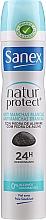 Parfums et Produits cosmétiques Déodorant spray - Sanex Natur Protect 0% Antimanchas Deo Spray