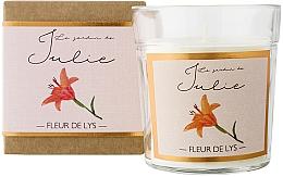 Parfums et Produits cosmétiques Bougie parfumée, Fleur de Lys - Ambientair Le Jardin de Julie Fleur de Lys