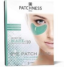 Parfums et Produits cosmétiques Patchs à l'extrait d'aloe vera contour des yeux - Patchness Eye Patch Aloe