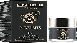 Parfums et Produits cosmétiques Crème de jour et nuit à l'extrait de miel et Or colloïdal - Dermofuture Power Bees Protective Anti-wrinkle Cream