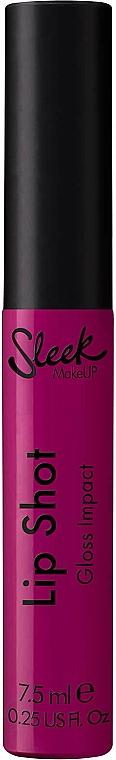 Gloss à lèvres - Sleek MakeUP Lip Shot Gloss Impact