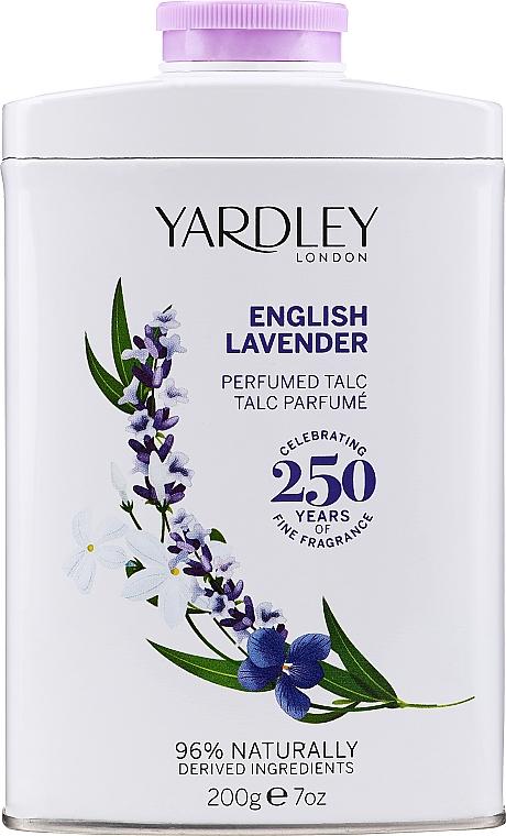 Yardley English Lavender Perfumed Talc - Talc parfumé pour corps