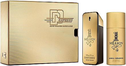 Paco Rabanne 1 Million - Coffret (eau de toilette/100ml + déodorant/150ml)