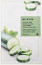 Parfums et Produits cosmétiques Masque tissu au concombre pour visage - Mizon Joyful Time Essence Mask Cucumber