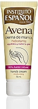 Parfums et Produits cosmétiques Crème à l'extrait d'avoine pour mains - Instituto Espanol Avena Hand Cream