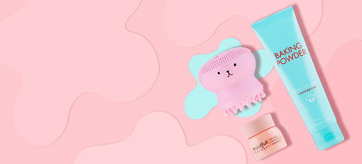 Lors de l'achat de produits Etude House pour un montant supérieur à 26 €, vous recevez une brosse nettoyante en silicone pour visage en cadeau