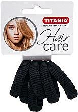 Parfums et Produits cosmétiques Élastiques à cheveux, 6 pcs, noir - Titania