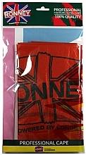 Parfums et Produits cosmétiques Cape de coiffure, taille unique, orange foncé - Ronney Professional Hairdressing Cape One Size