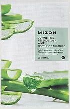 Parfums et Produits cosmétiques Masque tissu à l'aloe vera pour visage - Mizon Joyful Time Essence Mask Aloe