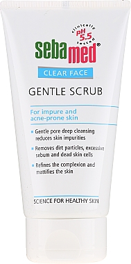 Gommage à l'huile de jojoba et glycérine pour visage - Sebamed Clear Face Gentle Scrub — Photo N2