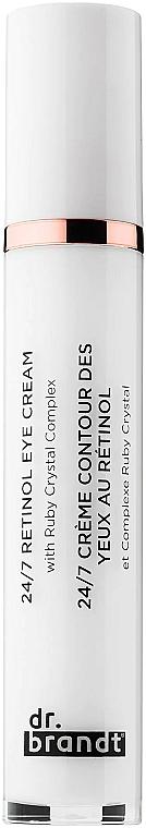 Crème au rétinol contour des yeux - Dr. Brandt 24/7 Retinol Eye Cream