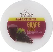 Parfums et Produits cosmétiques Beurre au jus de raisin pour mains et pieds - Stani Chef's Grape Juice Hand & Foot Butter