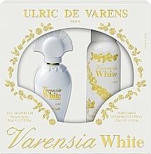 Parfums et Produits cosmétiques Ulric De Varens Varensia White - Set (eau de parfum/50ml + déodorant spray/125ml)