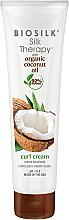 Parfums et Produits cosmétiques Crème coiffante - BioSilk Silk Therapy Organic Coconut Oil Curl Cream
