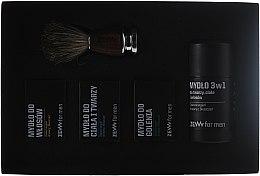 Parfums et Produits cosmétiques Zew Barber's Holiday - Set (savons/4x85ml + brosse)