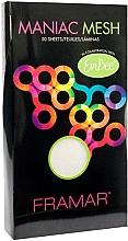 Parfums et Produits cosmétiques Feuilles de coloration des cheveux, réutilisables, 15 cm x 28 cm - Framar Maniac Mesh