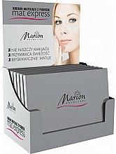 Parfums et Produits cosmétiques Papiers matifiants poudrés, 4pcs+1 - Marion Mat Express