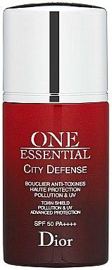 Sérum à l'extrait d'hibiscus rouge pour visage - Dior One Essential City Defense Toxin Shield Pollution UV SPF50 — Photo N1